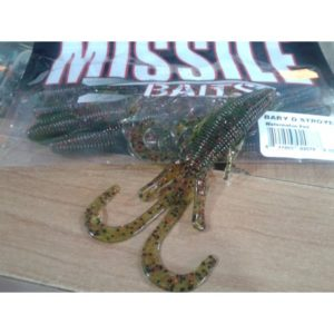 Baby D Destroyer Missile Baits w/red