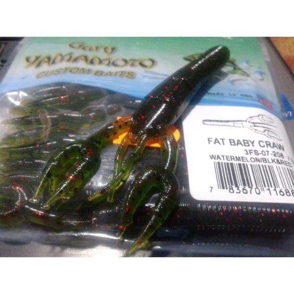 Fat Baby Craw Gary Yamamoto w/red