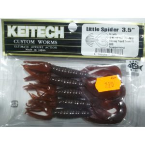 KEITECH Little Spider 3,5¨ color scuppernong