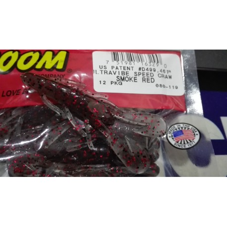 avibe Speed Craw Smoke Red
